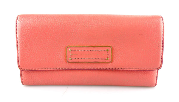 Marc By Marc Jacobs Coral Long Flap Wallet