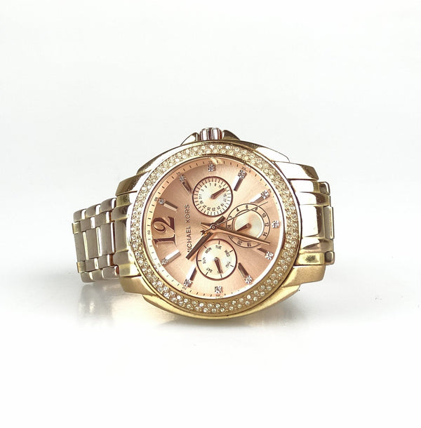 Michael Kors Cameron Watch Rose Gold With Diamantes MK5692