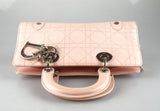 Christian Dior Small Vintage East West Pink Lady Dior