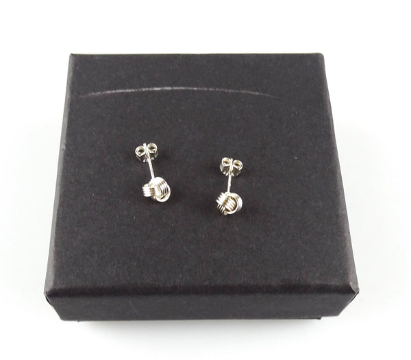 Links Of London Sterling Silver Knot Earrings