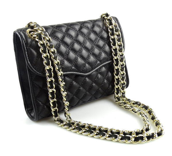 Rebecca Minkoff Quilted Flap Chain bag