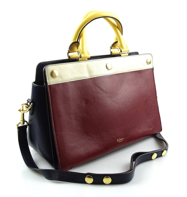 Mulberry Chester Smooth Calf Colour Block Tote