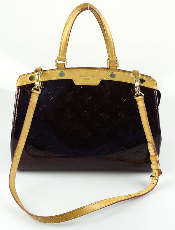 Louis Vuitton Vernis Amarante Brea MM VI1180