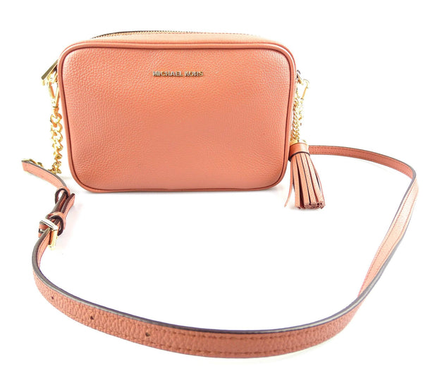 Michael Kors Jet Set Peach Camera Bag Crossbody