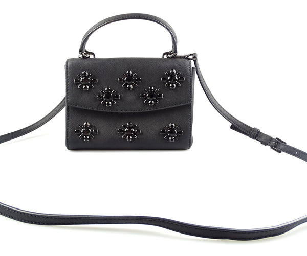 Michael Kors Mini Ava Black Saffiano With Embellishment GMH