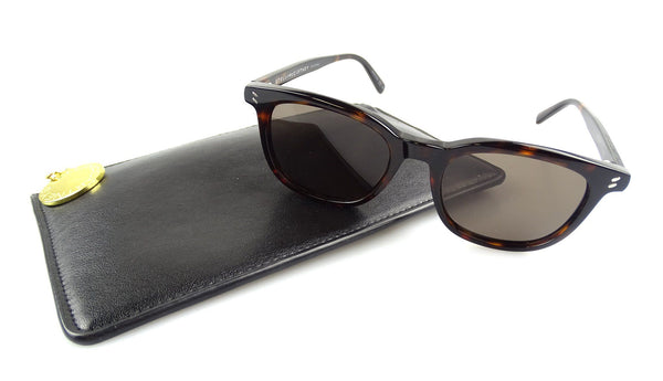 Stella McCartney Bio Material Brown Frame Sunglasses With Pouch