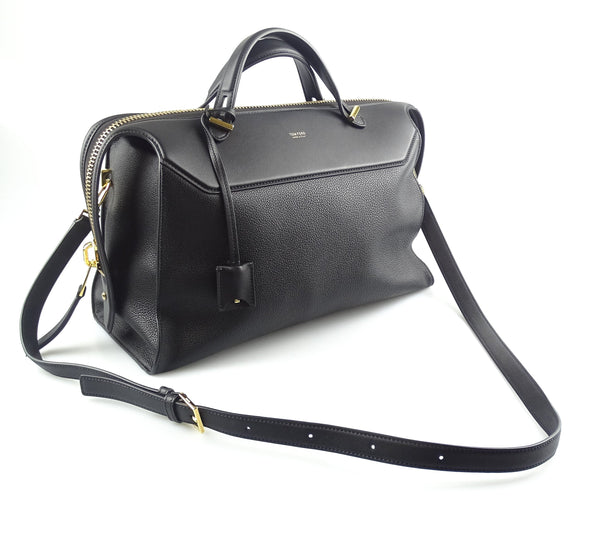 Tom Ford Edge Work Bag With Detachable Strap Black