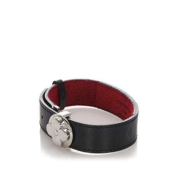 Louis Vuitton Leather Good Luck Bracelet