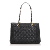Chanel Grand Shopping Tote Caviar Leather New Model GH 2010/11