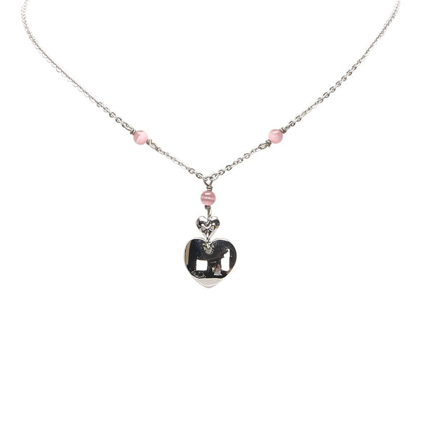 Heart Pendant Necklace Image #1