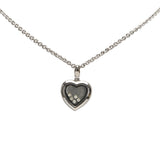 Heart Stone Pendant Necklace Image #1