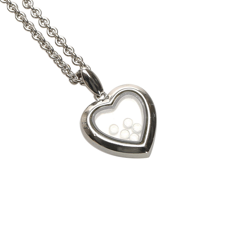 Heart Stone Pendant Necklace Image# 2