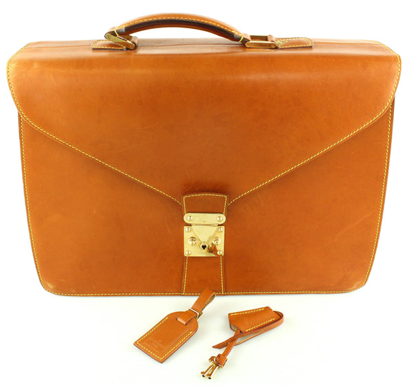 Louis Vuitton Vachetta Leather Conseiller Briefcase