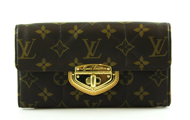 Louis Vuitton Monogram Canvas Sarah Etoile Wallet SP1130