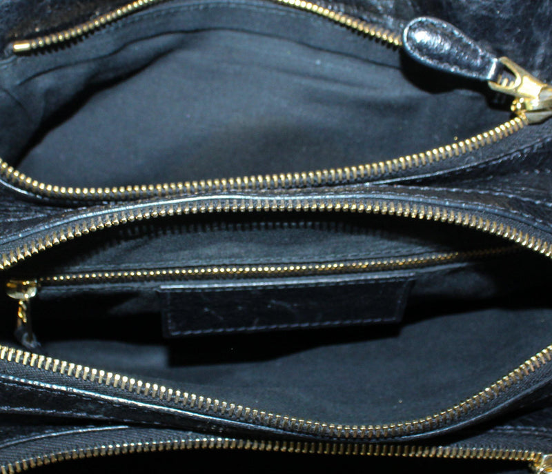 Balenciaga Black Giant Hardware Toolkit Agneau