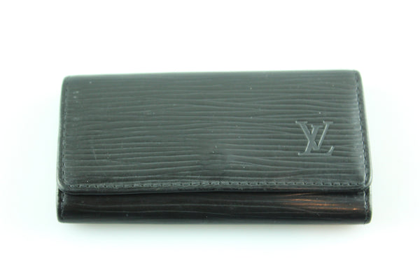 Louis Vuitton Black Epi Leather Multicles 4 CA0031