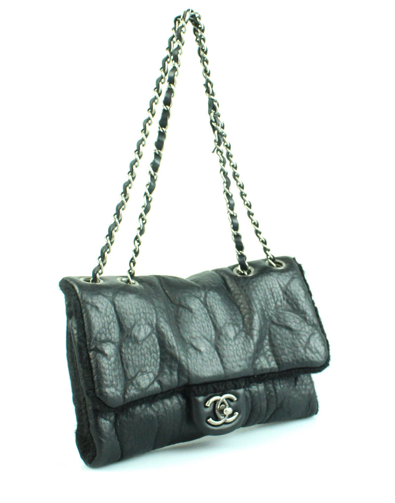 Chanel 2013 Classic Sheep And Wool Cruise Collection Flap Bag