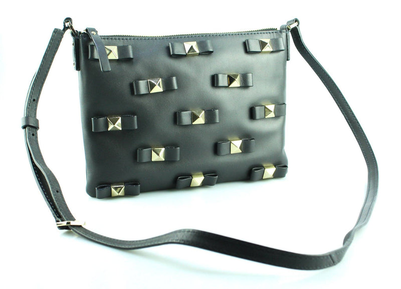 Kate Spade Bow Terrace Konnie Messenger Bag Dark Grey GH