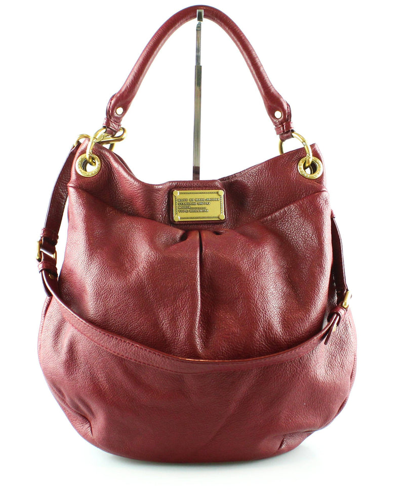 Marc Jacobs Hilier Hobo Wine Reg GH