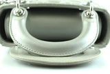 Christian Dior Lady Dior Mini Grey Pearl Lambskin (Leather Strap Only)