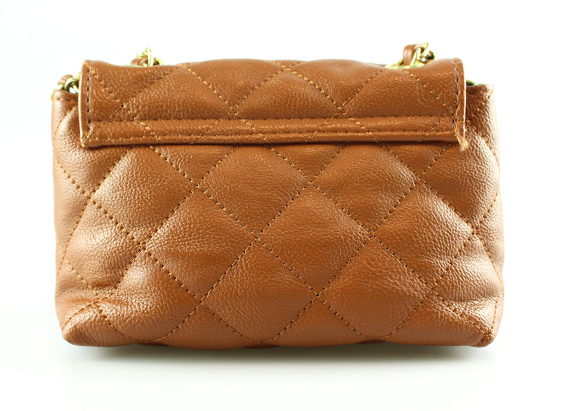 Steve Madden Tan Quilted Mini Charlee
