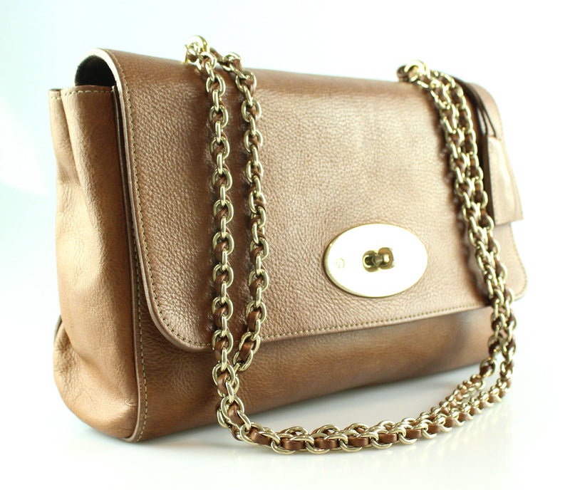 Mulberry Oak Natural Leather Medium Lily RRP €1195