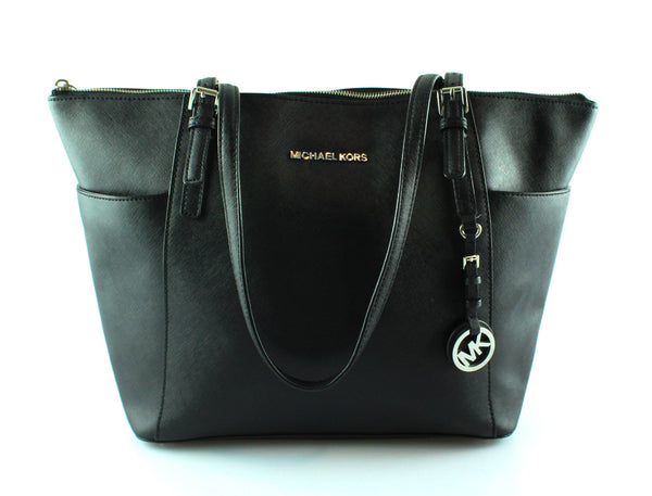 Michael Kors Black Jet Set Tote SH Large