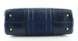 Smythson Enid Small Royal Blue Snake Trim