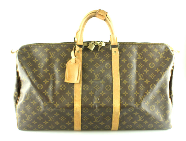 Louis Vuitton Vintage Monogram Keepall 55 MI884