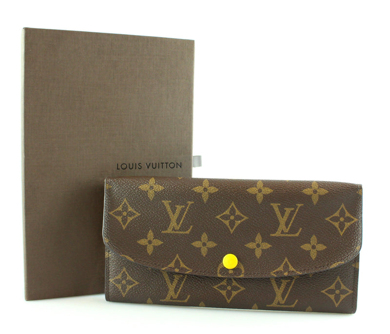 Louis Vuitton Monogram Emilie CA4185 RRP €335
