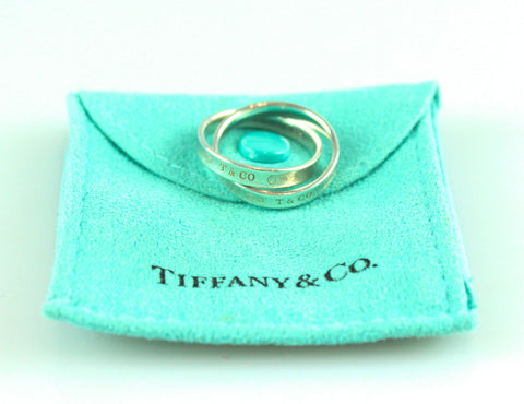 Tiffany & Co 1837 Interlocking Circles Ring 925
