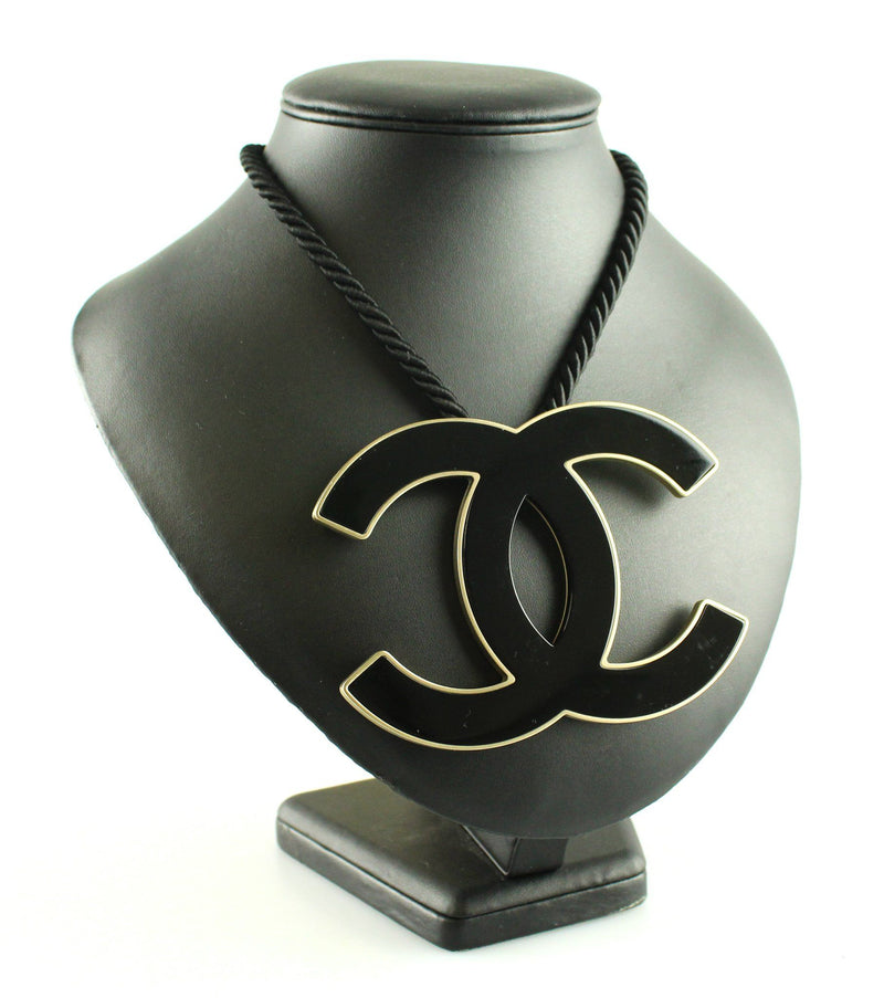 Chanel Oversize CC 2008 Rope Necklace
