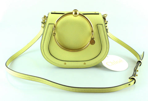 Chloe Lemonade Calfskin And Suede Nile GH