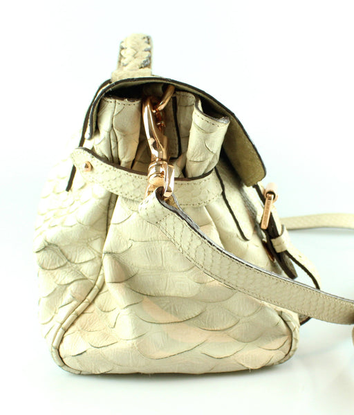 Mulberry Silky Snake Regular Alexa Beige Rose Gold Hardware