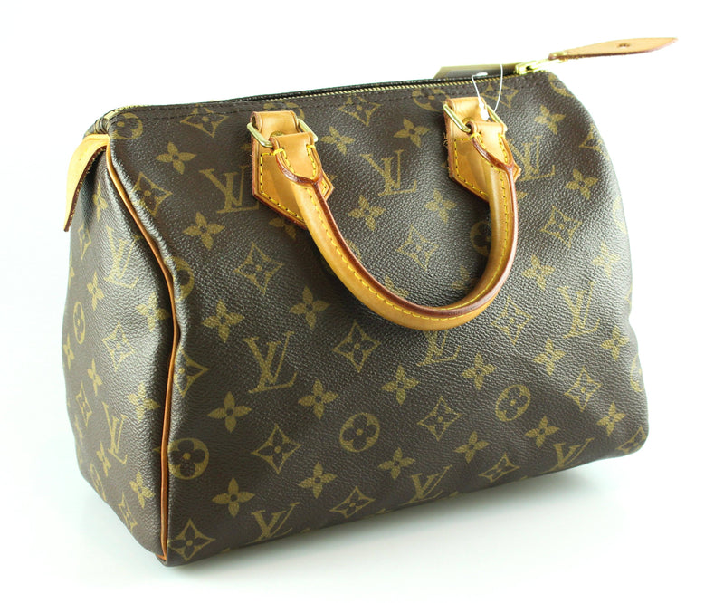 Louis Vuitton Monogram Speedy 25 AA4049 GH