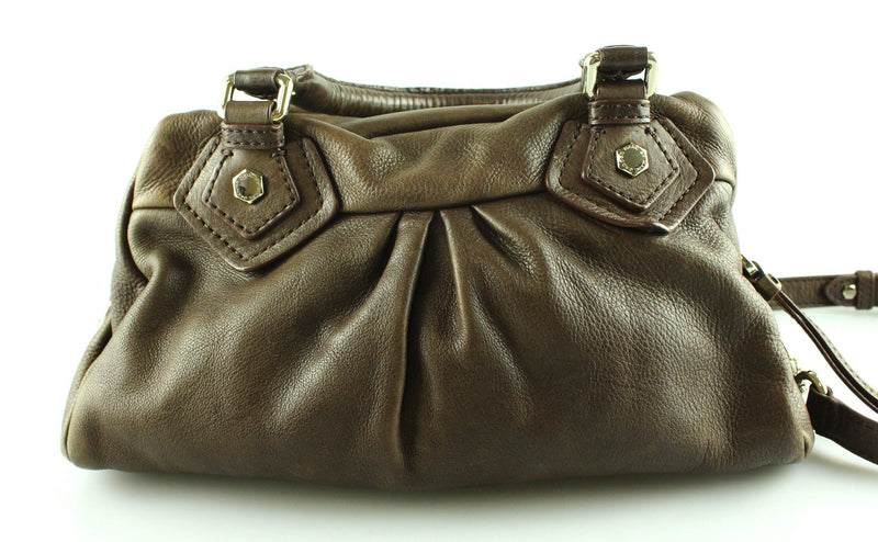 Marc By Marc Jacobs Classic Q Baby Groovee Brown Leather Bag