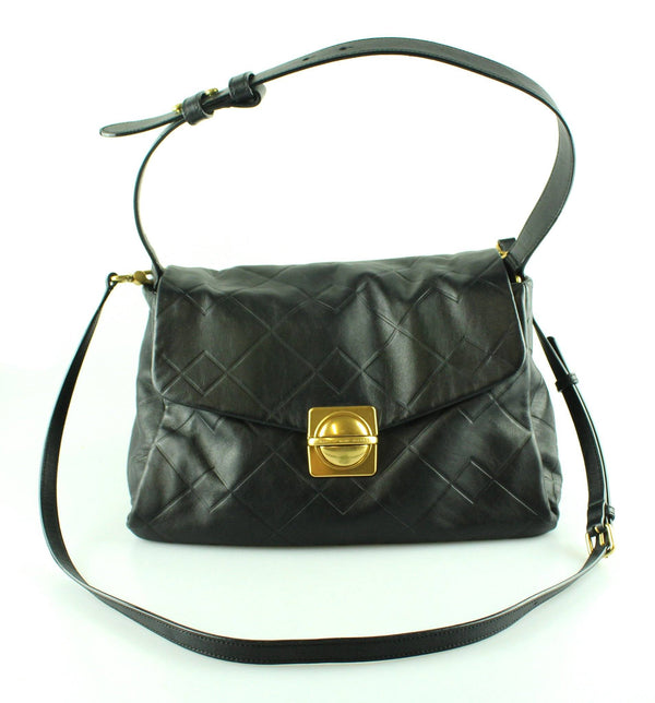 Marc By Marc Jacobs Circle In A Square Shoulder Bag Black