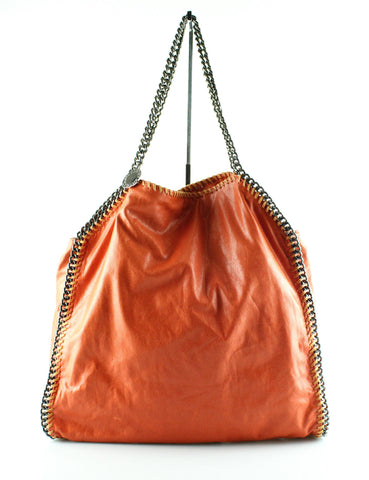 Stella McCartney Burnt Orange Large Falabella GMH