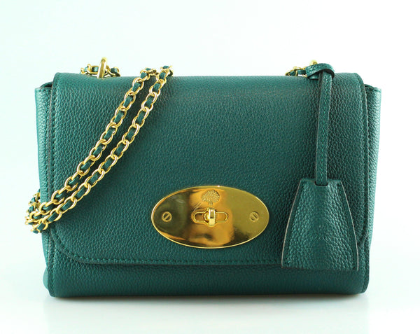 68735aa5dbf6 Mulberry Ocean Green Small Classic Grain Lily – Designer Exchange Ltd