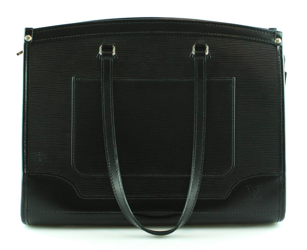 Louis Vuitton Black Epi Leather Madeleine GM AR4180