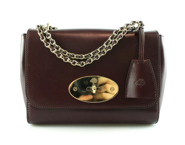 Mulberry Crossboarded Calf Small Lily Oxblood 2