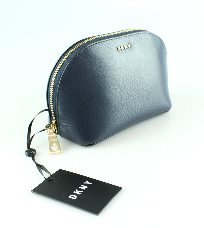 DKNY Bryant Cosmetic Pouch  Navy GH New