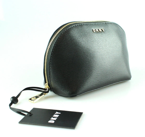 DKNY Bryant Cosmetic Pouch Black GH New