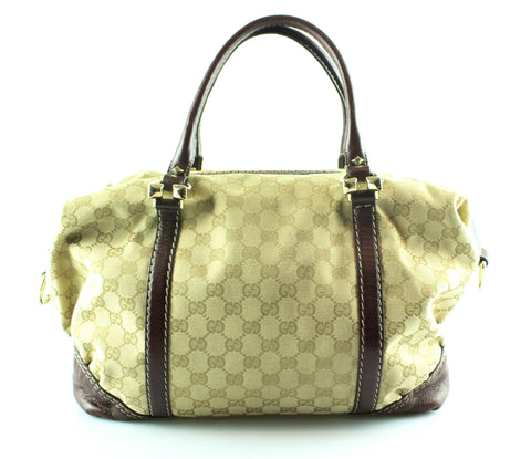 Gucci GG Horsebit Nail Medium Boston Bag
