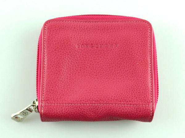 Longchamp Pink Compact Wallet