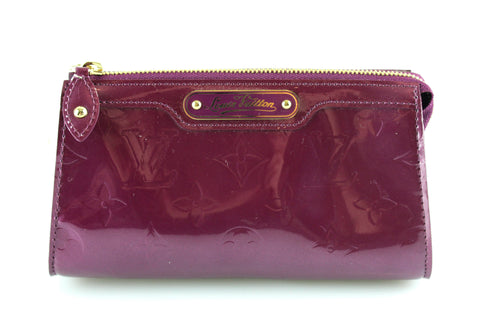 Louis Vuitton Vernis Violet Small Pochette SN5007