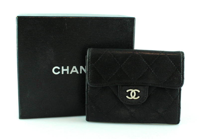 Chanel Lambskin Classic Coin Purse SH (No serial Code)