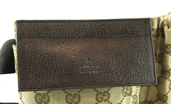 Gucci GG Canvas/Leather Bum Bag (2)