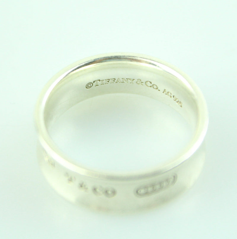 Tiffany & Co 1837 Ring In Sterling Silver Medium