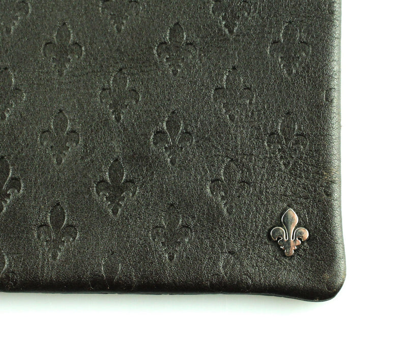 Patrick Cox Logo Embossed Brown Ipad Cover